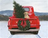 Christmas in the Heartland IV Art Print