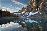 Floe Lake Reflection III Art Print