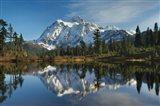 Mount Shukan Reflection I Art Print