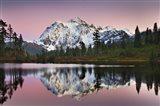 Mount Shukan Reflection II Art Print