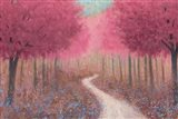 Forest Pathway Spring Art Print