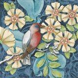 Arts and Crafts Bird I Art Print