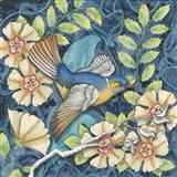 Arts and Crafts Bird III Art Print