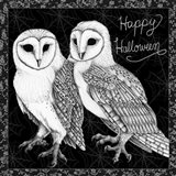 Arsenic and Old Lace Happy Halloween Art Print