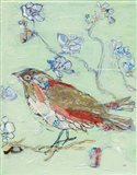 Sea Foam Bird Art Print