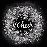 Frosty Cheer Art Print