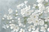 Spring Beautiful Gray Art Print