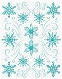Christmas Otomi I Art Print
