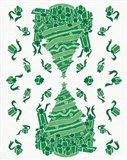 Christmas Otomi IV Art Print