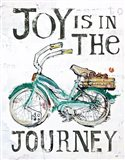 Joy is in the Journey Art Print