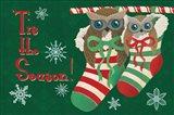 Christmas Parliament II Art Print