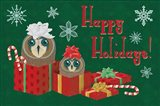 Christmas Parliament III Art Print