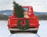 Christmas in the Heartland IV no Words Art Print