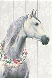 Spirit Stallion I on wood Art Print