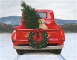 Christmas in the Heartland IV Ford Art Print