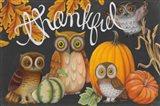 Harvest Owl III Art Print