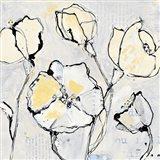 16 Again III with Yellow Art Print
