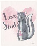 My Furry Valentine II Art Print
