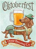 Beer Dogs III Art Print