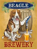 Beer Dogs IV Art Print