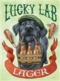 Beer Dogs V Art Print