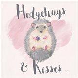 My Furry Valentine III Sq Art Print