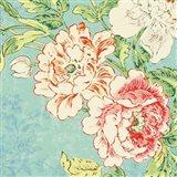 Cottage Roses V Bright Art Print