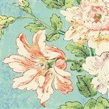 Cottage Roses VII Bright Art Print