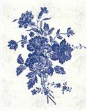 Toile Roses VIII Art Print