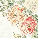 Cottage Roses V Art Print