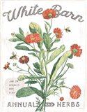 White Barn Flowers IV Art Print
