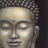 Serene Buddha II Crop Art Print