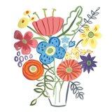 Floral Medley I Art Print