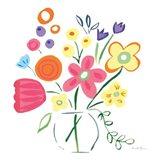 Floral Medley III Art Print