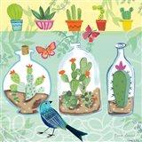 Cacti Garden I Art Print