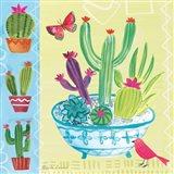 Cacti Garden III Art Print