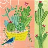 Cacti Garden IV Art Print