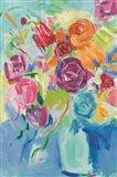 Matisse Florals Pastel Crop Art Print