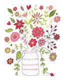 Valentines Flowers II Art Print