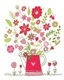 Valentines Flowers III Art Print