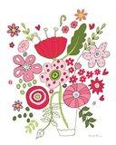 Valentines Flowers IV Art Print