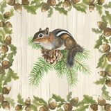 Woodland Critter II Art Print