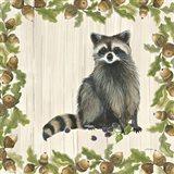 Woodland Critter V Art Print