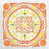 Citrus Tile I v2 Art Print