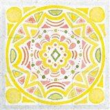 Citrus Tile II v2 Art Print