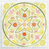 Citrus Tile III v2 Art Print