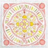 Citrus Tile IV v2 Art Print