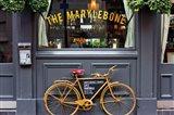 Marylebone Bike Art Print