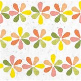 Citrus Tile Pattern II Crop Art Print