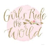 Girl Power III Art Print